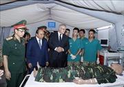 Thủ tướng Nguyễn Xuân Phúc và Thủ tướng Australia thăm Bệnh viện dã chiến cấp 2 số 2