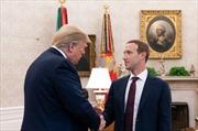 Ông chủ Facebook gặp Tổng thống Donald Trump và các nghị sĩ Mỹ để 'lắng nghe những quan ngại'