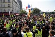 Trên 1.000 người thuộc phong trào 'Áo vàng'tiếp tục biểu tình tại Pháp