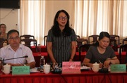 Đoàn Kiểm tra của Ủy ban Dân tộc làm việc tại tỉnh Phú Yên