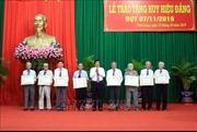 Tỉnh ủy Vĩnh Long trao huy hiệu Đảng cho 116 đảng viên