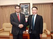 Tổng Giám đốc Thông tấn xã Việt Nam Nguyễn Đức Lợi tiếp Đại sứ Armenia tại Việt Nam