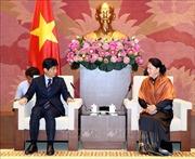 Chủ tịch Quốc hội Nguyễn Thị Kim Ngân tiếp Đoàn đại biểu tỉnh Gunma, Nhật Bản