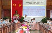 Đoàn công tác Ban Chỉ đạo Trung ương về Phòng, chống tham nhũng làm việc tạiHậu Giang