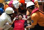 Cứu nạn thuyền viên Thái Lan bị hôn mê trên biển