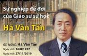 Giáo sư,Nhà giáo Nhân dânHà Văn Tấn - Người cuối cùng trong 'Tứ trụ' nền sử học đương đại Việt Nam qua đời