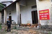Kho thuốc bảo vệ thực vật bỏ hoang trong khuôn viên trường học
