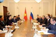 Chủ tịch Quốc hội Nguyễn Thị Kim Ngân hội đàm với Chủ tịch Duma Quốc gia LB Nga