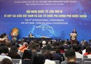 Khai mạc Hội nghị Quốc tế lần thứ IV về hợp tác giữa Việt Nam và các tổ chức phi chính phủ nước ngoài