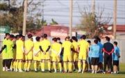VCK U23 châu Á 2020: Tiền vệ Trọng Hùng 'quyết tâm thể hiện năng lực bản thân'