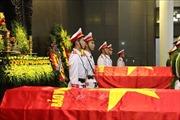 Đảng ủy Công an Trung ương, Bộ Công an tổ chức trọng thể Lễ tang ba liệt sỹ hy sinh tại Đồng Tâm