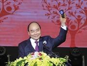 Thủ tướng nhắn tin ủng hộ người nghèo trong chương trình 'Sức mạnh nhân đạo 2020'
