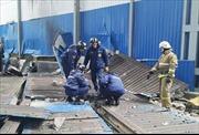 Nổ khí gas tại một công xưởng làm 8 người thương vong