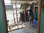 An Giang: Di dời khẩn cấp 2 hộ dân trong vùng sạt lở ở khu vực sông Ông Chưởng
