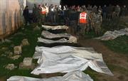 Quân đội Syria phát hiện hố chôn tập thể gần thủ đô Damascus