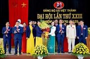 Yên Bái: Khai mạc Phiên chính thức Đại hội Đảng bộ xã Việt Thành, nhiệm kỳ 2020 – 2025
