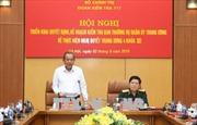 Đoàn Kiểm tra Bộ Chính trị làm việc với Ban Thường vụ Quân ủy Trung ương