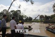 Khảo sát thực tế lũ lụt và công tác phòng chống tại Long An