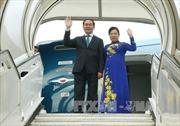 Chủ tịch nước Trần Đại Quang lên đường thăm cấp Nhà nước đến Ethiopia, Ai Cập