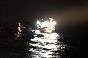 Kịp thời cứu 6 thuyền viên gặp nạn trên biển