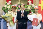 Chủ tịch nước Trần Đại Quang trao quyết định bổ nhiệm Phó Viện trưởng Viện Kiểm sát nhân dân tối cao