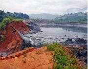 Sự cố vỡ hồ chứa thải gây ảnh hưởng môi trường tại Bảo Thắng, Lào Cai
