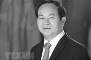 Thủ tướng Nhật Bản gửi lời chia buồn về việc Chủ tịch nước Trần Đại Quang từ trần