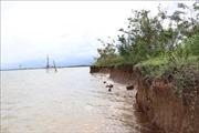 Quảng Trị khẩn trương ứng phó tình hình sạt lở bờ biển, bờ sông