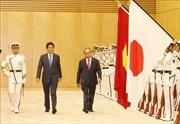 Trọng thị Lễ đón chính thức Thủ tướng Nguyễn Xuân Phúc tại Tokyo, Nhật Bản