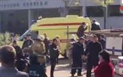 Bình ga phát nổ bên trong trường cao đẳng, hàng chục người thương vong