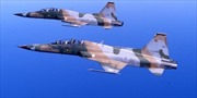 Máy bay chiến đấu Tusinia rơi xuống biển khi huấn luyện