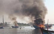 Vụ nổ tàu cá ở huyện Lý Sơn: Sức khỏe 8 nạn nhân thương nặng tạm thời ổn định