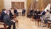 Tổng thống Syria tiếp phái đoàn Nga tại Damascus