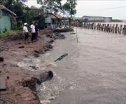 Cấp bách ngăn chặn tình hình sạt lở bờ biển và bồi lấp cửa sông tại các tỉnh miền Trung