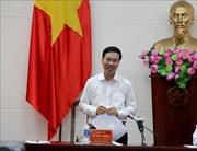 Trưởng ban Tuyên giáo Trung ương Võ Văn Thưởng làm việc với Tạp chí Cộng sản
