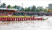 Khép lại Lễ hội Óoc Om Bóc - đua ghe Ngo truyền thống của đồng bào Khmer Sóc Trăng