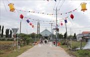 Xứ đạo bình yên Tân Hải xây dựng nông thôn mới