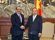 Thủ tướng Nguyễn Xuân Phúc tiếp các nhà đầu tư vào dự án Liên hợp lọc hóa dầu Nghi Sơn