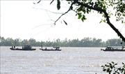 Tìm thấy thi thể một bé gái trong vụ chìm sà lan trên sông Hậu