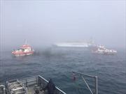 Chìm tàu chở than, ít nhất 6 người thiệt mạng và mất tích