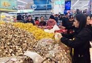 Tháng 1, CPI tăng nhẹ do dồi dào hàng hóa chuẩn bị cho dịp Tết