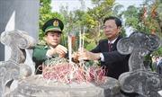 Đoàn Bộ Tư lệnh Bộ đội Biên phòng và tỉnh Quảng Ninh dâng hương tưởng niệm liệt sỹ tại Pò Hèn