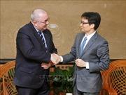 Phó Thủ tướng Vũ Đức Đam tiếp Đại sứ Vương quốc Bỉ tại Việt Nam
