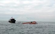 Va chạm giữa tàu cá và tàu dịch vụ dầu khí làm 1 người chết, 1 người mất tích