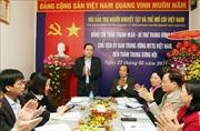 Chủ tịch Mặt trận Tổ quốc làm việc với Hội Bảo trợ người khuyết tật và trẻ mồ côi Việt Nam