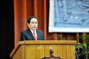 Chủ tịch Ủy ban Trung ương Mặt trận Tổ quốc Việt Nam làm việc tại tỉnh Khánh Hòa