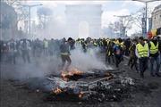 Không xảy ra bạo loạn trong cuộc biểu tình 'Áo vàng' tại Paris
