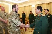 Việt Nam - Anh tăng cường hợp tác trong lĩnh vực quân y gìn giữ hòa bình
