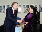 Chủ tịch Quốc hội Nguyễn Thị Kim Ngân gặp Chủ tịch Ủy ban Thương mại quốc tế của EP