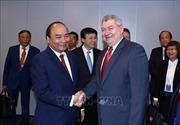 Thủ tướng Nguyễn Xuân Phúc tiếp Chủ tịch Đảng Séc-Morava